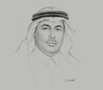 Sketch of Prince Turki bin Saud bin Mohammed Al Saud, President, King Abdulaziz City for Science and Technology (KACST)