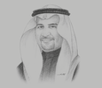 Sketch of Khalid Al Mudaifer, President and CEO, Ma'aden
