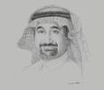 Sketch of Khalid Al Amoudi, CEO, Saudi Red Bricks