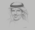 Sketch of Nabeel Al Amudi, Minister of Transport