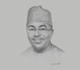 Sketch of Vice-President Mahamudu Bawumia, Chairman, Economic Management Team