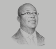 Sketch of Archie Hesse, CEO, Ghana Interbank Payment and Settlement Systems