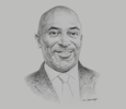 Sketch of R Yofi Grant, CEO, Ghana Investment Promotion Centre (GIPC)
