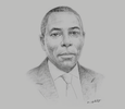 Sketch of Kofi Yamoah, Managing Director, Ghana Stock Exchange (GSE)