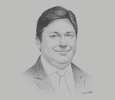 Sketch of Kais Marzouki, CEO, Nestlé Central and West Africa Region