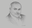Sketch of Mohamed Samara, CEO, Meridian Port Services (MPS)
