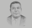 Sketch of Charles Larbi-Odam, Country Executive, Deloitte Ghana