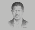 Sketch of Marcel de Souza, President, ECOWAS Commission