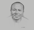 Sketch of Ken Ofori-Atta, Minister of Finance