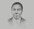 Sketch of Aaron Issa Anafure, Former CEO, SIC Life Insurance