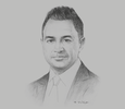 Sketch of Adnan Chilwan, Group CEO, Dubai Islamic Bank