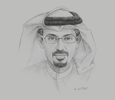 Sketch of Hamad Buamim, President and CEO, Dubai Chamber,