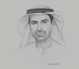 Sketch of Yousuf Al Shaibani, Director-General, Mohammed bin Rashid Space Centre
