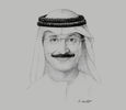 Sketch of Sultan Ahmed bin Sulayem, Chairman, Dubai Maritime City Authority (DMCA)