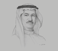 Sketch of Hussain Sajwani, Chairman, DAMAC Properties