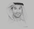 Sketch of Mohamed Almulla, CEO, DXB Entertainments
