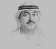 Sketch of Saif Humaid Al Falasi, Group CEO, Emirates National Oil Company (ENOC)