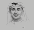 Sketch of Abdulla Al Karam, Chairman and Director-General, Knowledge and Human Development Authority