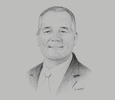 Sketch of Dean Kern, Middle East Tax and Legal Services Leader, PwC
