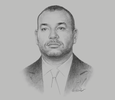 Sketch of His Majesty King Mohammed VI, on re-entry to the African Union (AU)