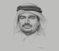 Sketch of Abdulbasit Ahmad Al Shaibei, CEO, Qatar International Islamic Bank