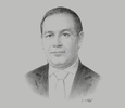 Sketch of Tarafa Marouane, Chairman, SOMED Group
