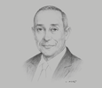 Sketch of Fouad Lahgazi, Senior Partner, KPMG