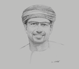 Sketch of Abdulaziz Mohammed Al Balushi, Group CEO, Ominvest