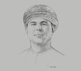 Sketch of Tariq Ali Al Amri, CEO