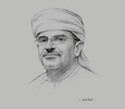 Sketch of Omar Al Wahaibi, CEO, Nama Group