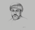 Sketch of Ahmed bin Nasser Al Mahrizi, Minister of Tourism