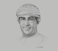 Sketch of Omar Al Sharif, Country Senior Partner Oman, PwC