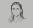 Sketch of Sahar Nasr, Minister of Investment and International Cooperation