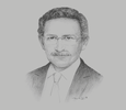 Sketch of Tarik Tawfik, President, American Chamber of Commerce in Egypt