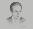 Sketch of Ashraf Dowidar, CEO, ARDIC