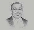 Sketch of Siandou Fofana, Minister of Tourism