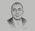 Sketch of Roger Eugène Boa Johnson, President, Association of Insurance Companies of Côte d'Ivoire