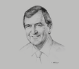 Sketch of Mark Bristow, CEO, Randgold Resources