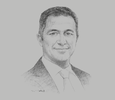 Sketch of Walid Sheta, Cluster President for North-east Africa and Levant, Schneider Electric