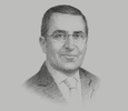 Sketch of Mohammed Khalil Alsayed, CEO, Ithmaar Development Company