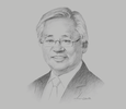 Sketch of Serge Pun, Chairman, Serge Pun & Associates