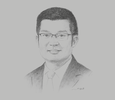 Sketch of Liman Zhang, CEO, Huawei Myanmar