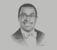 Sketch of Akinwumi Adesina, President, African Development Bank (AfDB)