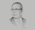 Sketch of Samir Majoul, President, Tunisian Union of Industry