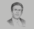 Sketch of Chokri Bayoudh, CEO, Office Nationale de l'Huile d'Olive