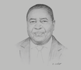 Sketch of Godfrey Simbeye, Executive Director, Tanzania Private Sector Foundation (TPSF)