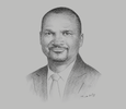 Sketch of James Kilaba, Director-General, Tanzania Communications Regulatory Authority