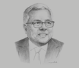 Sketch of Ramon M Lopez, Secretary, Department of Trade and Industry (DTI)