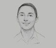 Sketch of Inanc Balci, CEO and Co-founder, Lazada Philippines