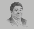 Sketch of Willie J Uy, President and CEO, 8990 Holdings